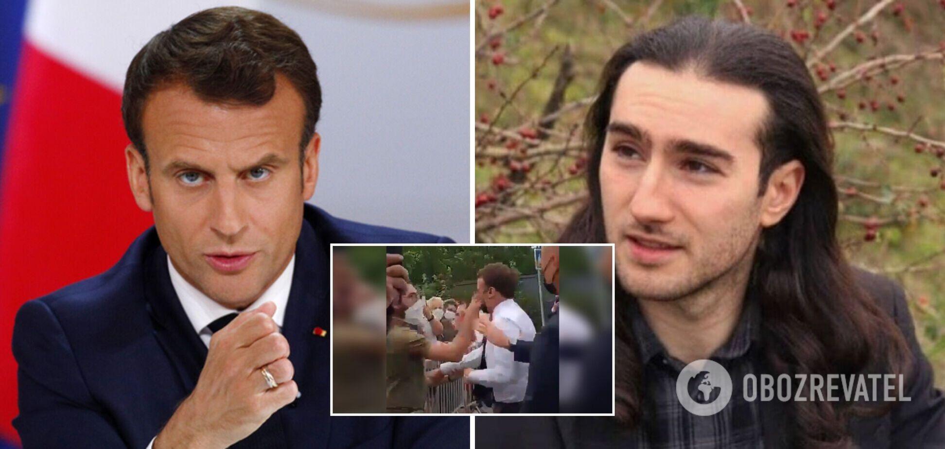 Нападник на Макрона зізнався, що хотів кинути в президента Франції яйцем: суд оголосив вирок