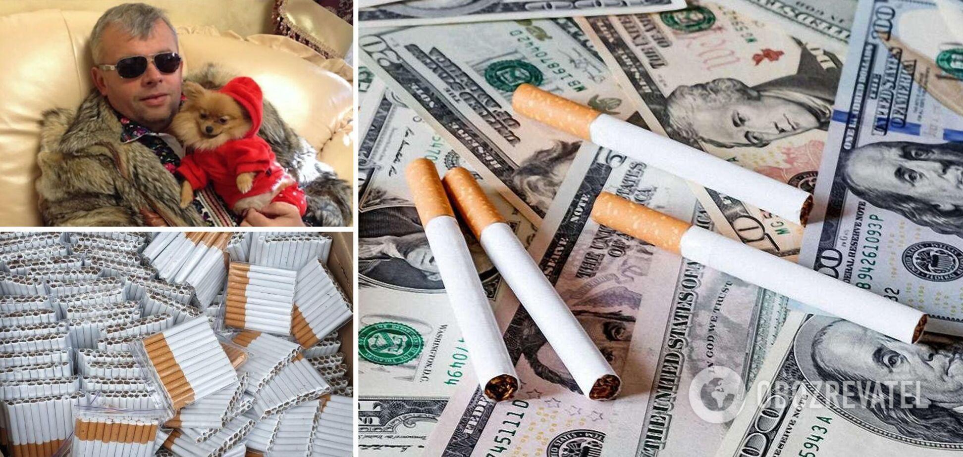 Фабрика Григорія Козловського продає майже половину контрабандних сигарет