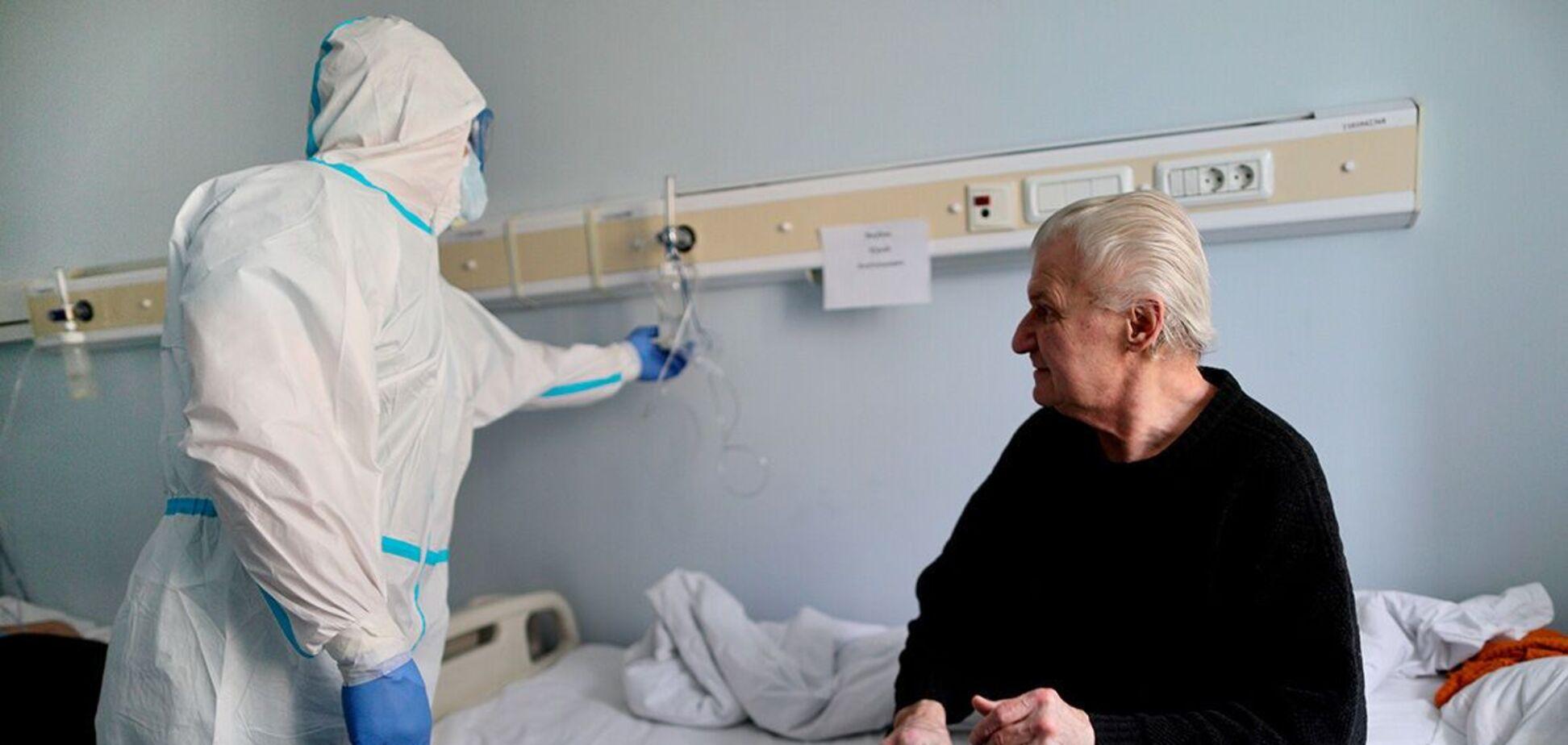 У лікарнях ще 586 пацієнтів під'єднані до апаратів ШВЛ