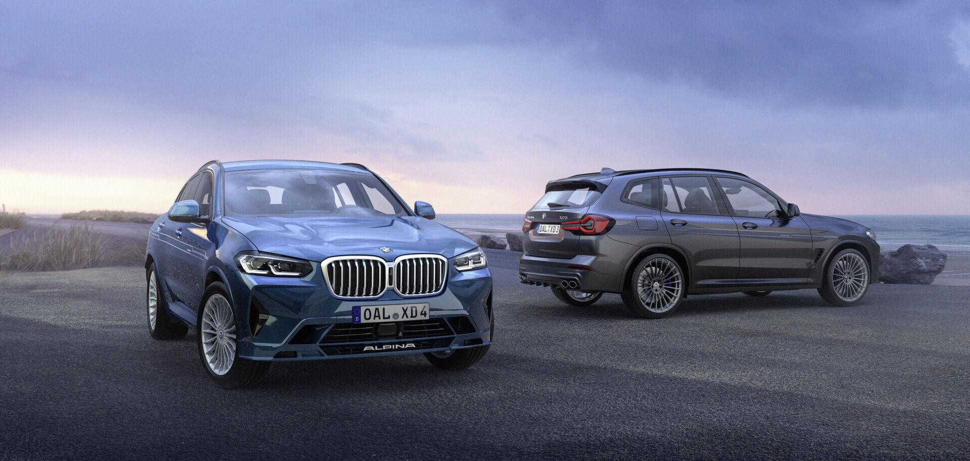 Alpina показала свої версії оновлених BMW X3 та X4