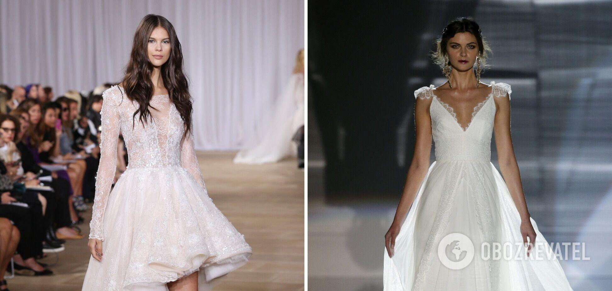 Какие свадебные платья в тренде в 2021
