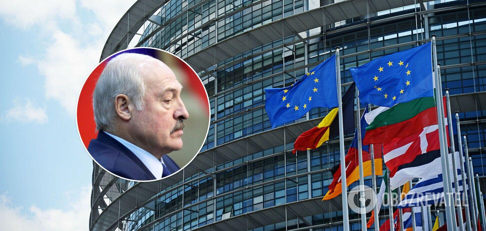 Європарламент ухвалив резолюцію щодо Білорусі: хочуть від'єднати від SWIFT і розширити санкції