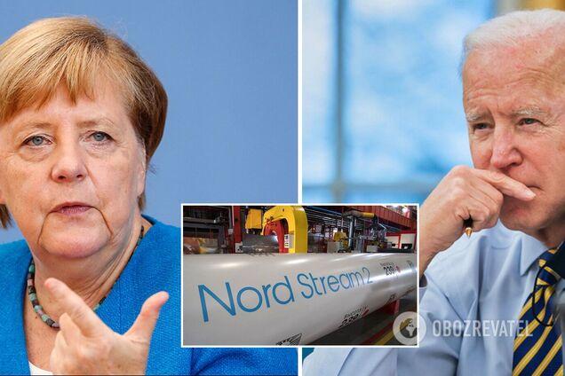 """Меркель поедет в США для разрешения споров по """"Северному потоку-2"""""""