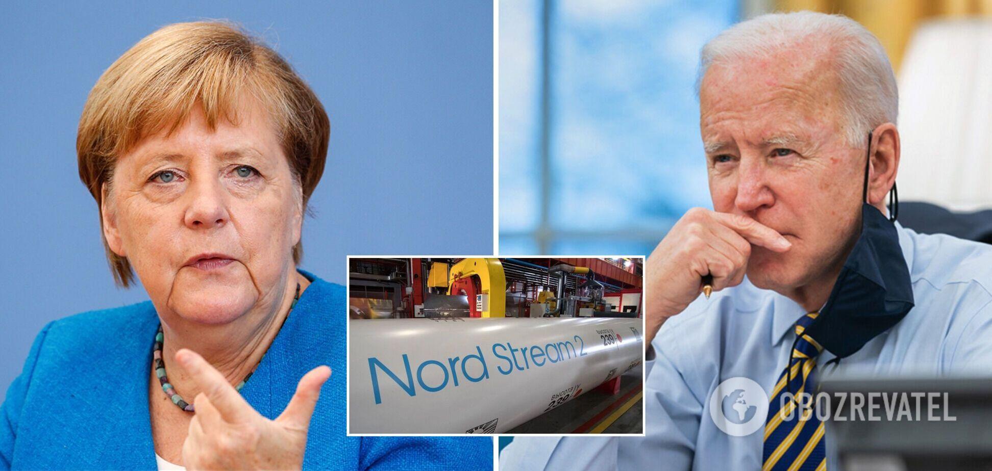 Меркель поедет в США для разрешения споров по 'Северному потоку-2': названа дата