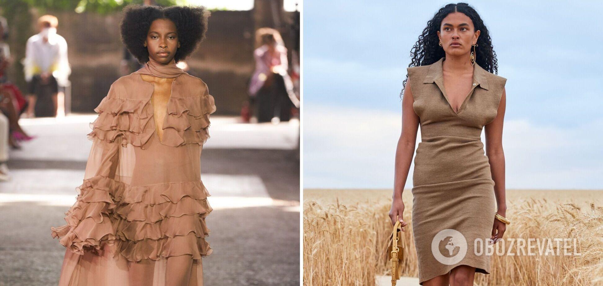 Сукні якого кольору будуть у тренді влітку 2021. Фото