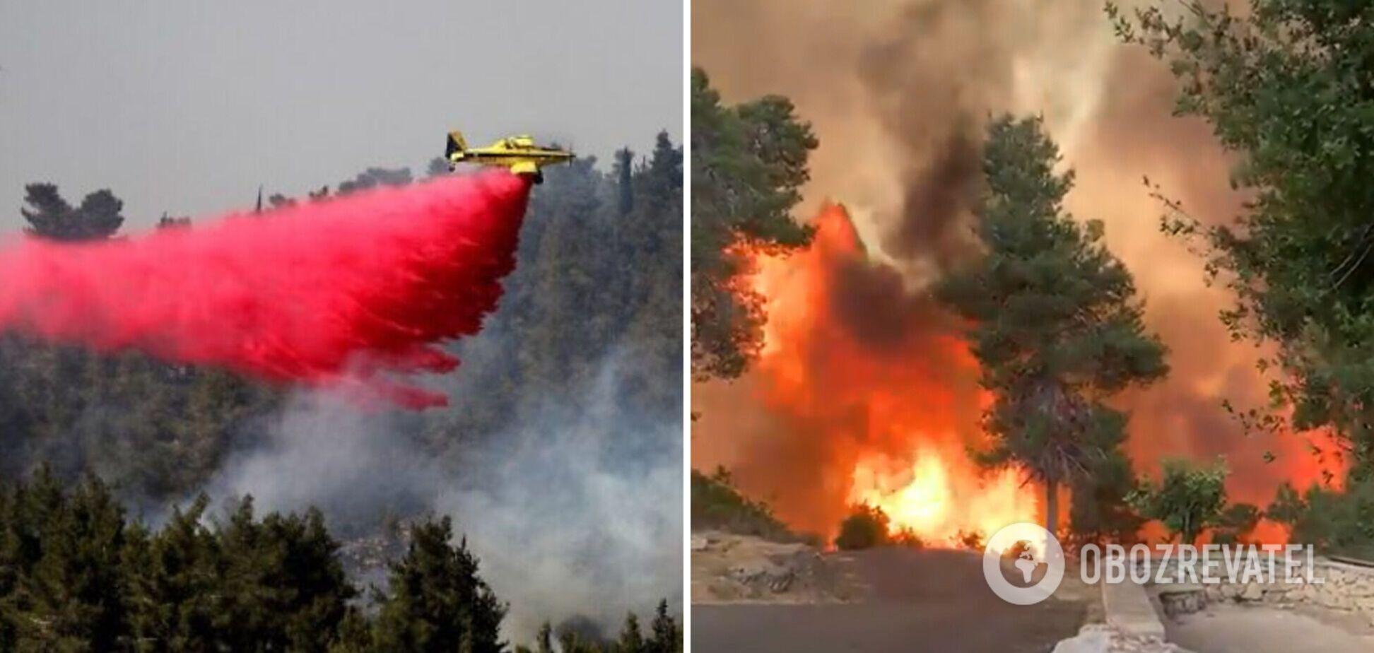 Пожежа в Ізраїлі