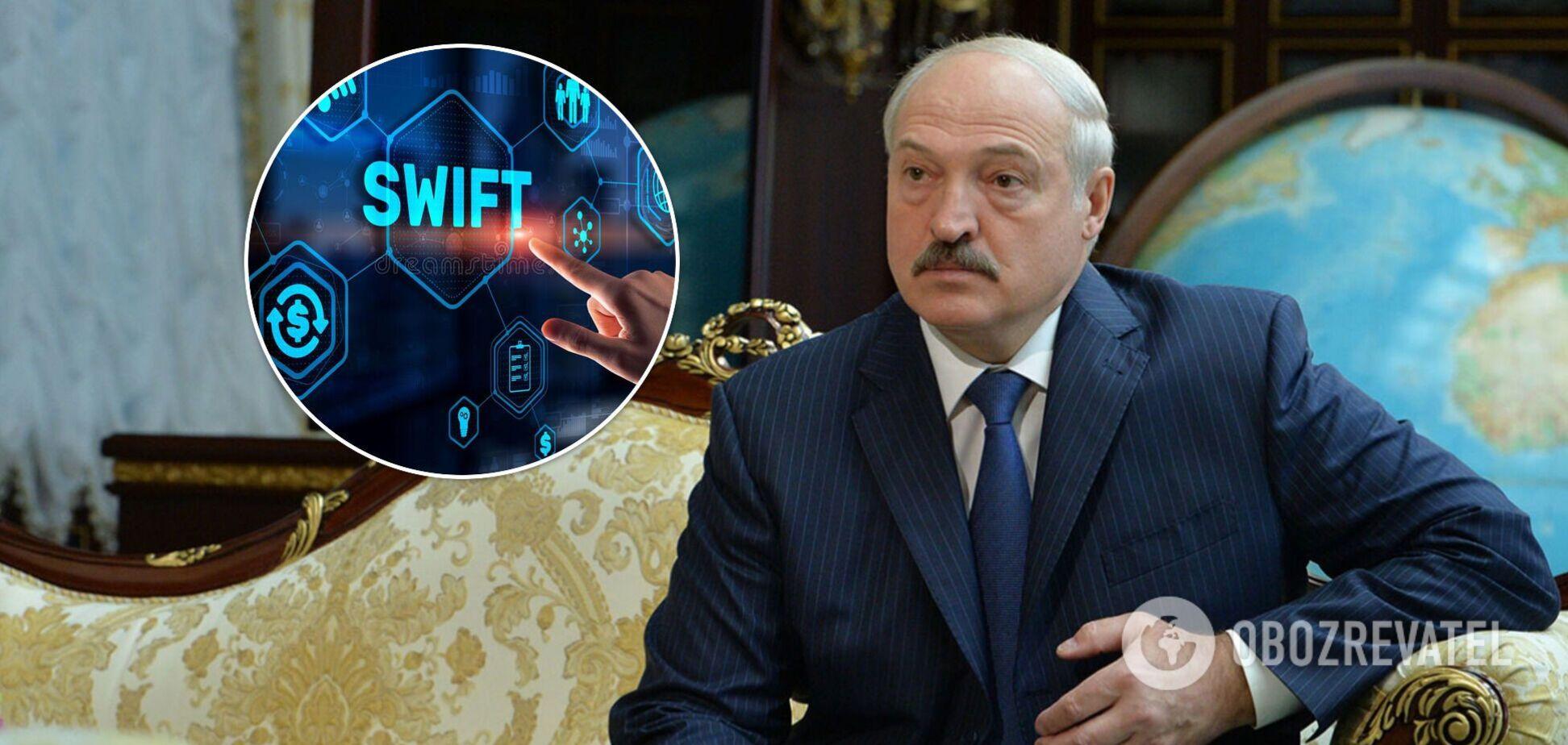 Европарламент призвал ЕС отключить Беларусь от SWIFT