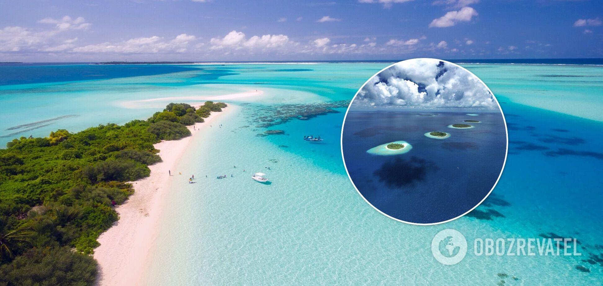 Оптическая иллюзия с островами