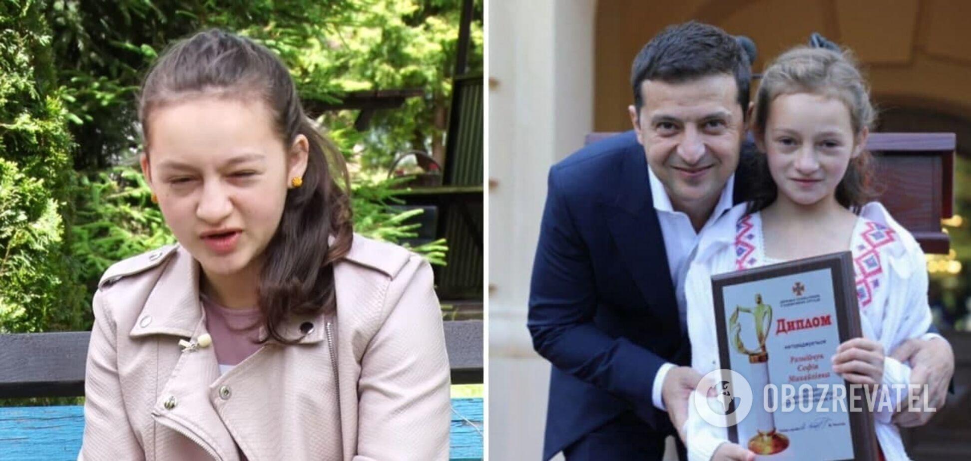 Софія Рознійчук потрапила в дитячий будинок