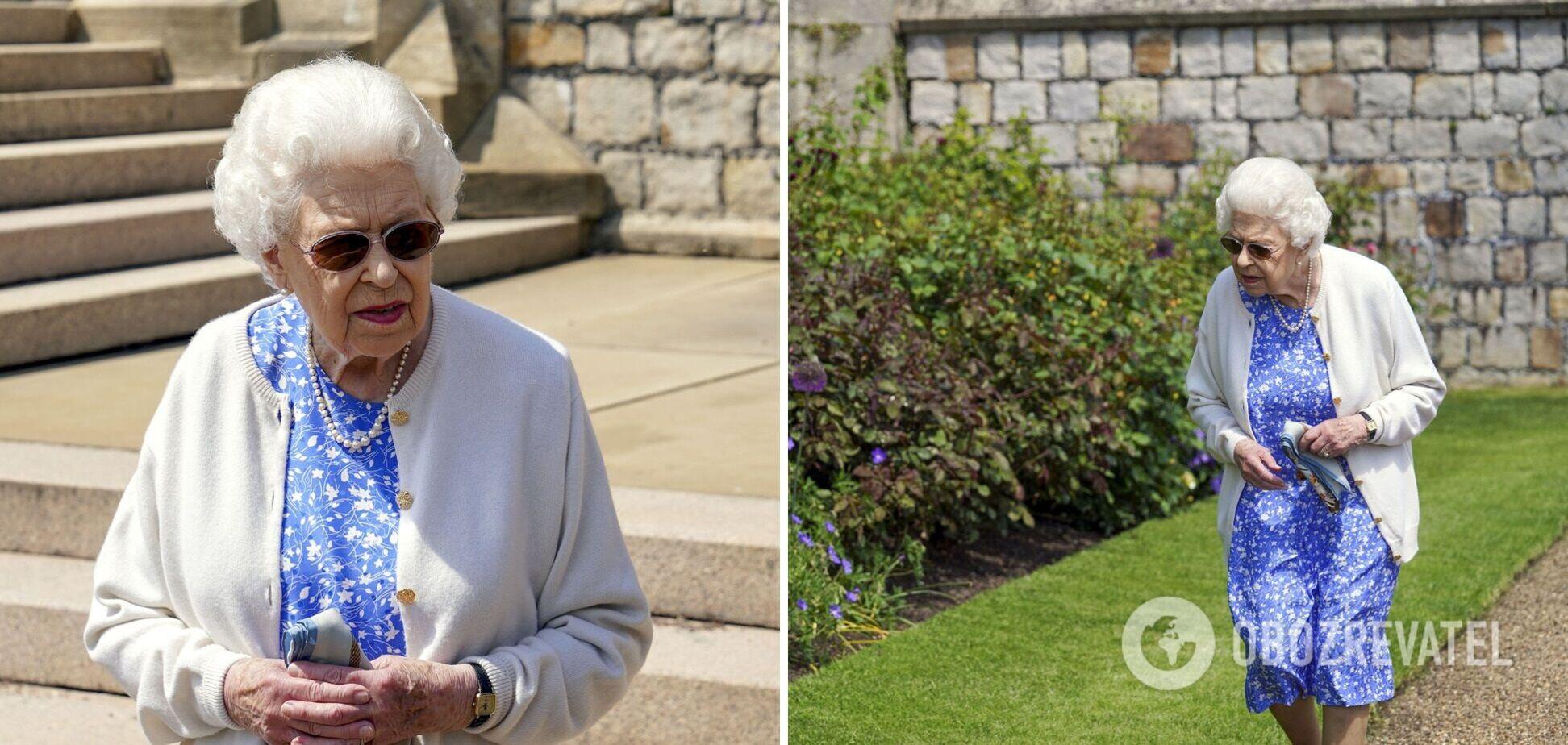 Єлизавета II посадила новий вид троянд, які названі на честь принца Філіпа