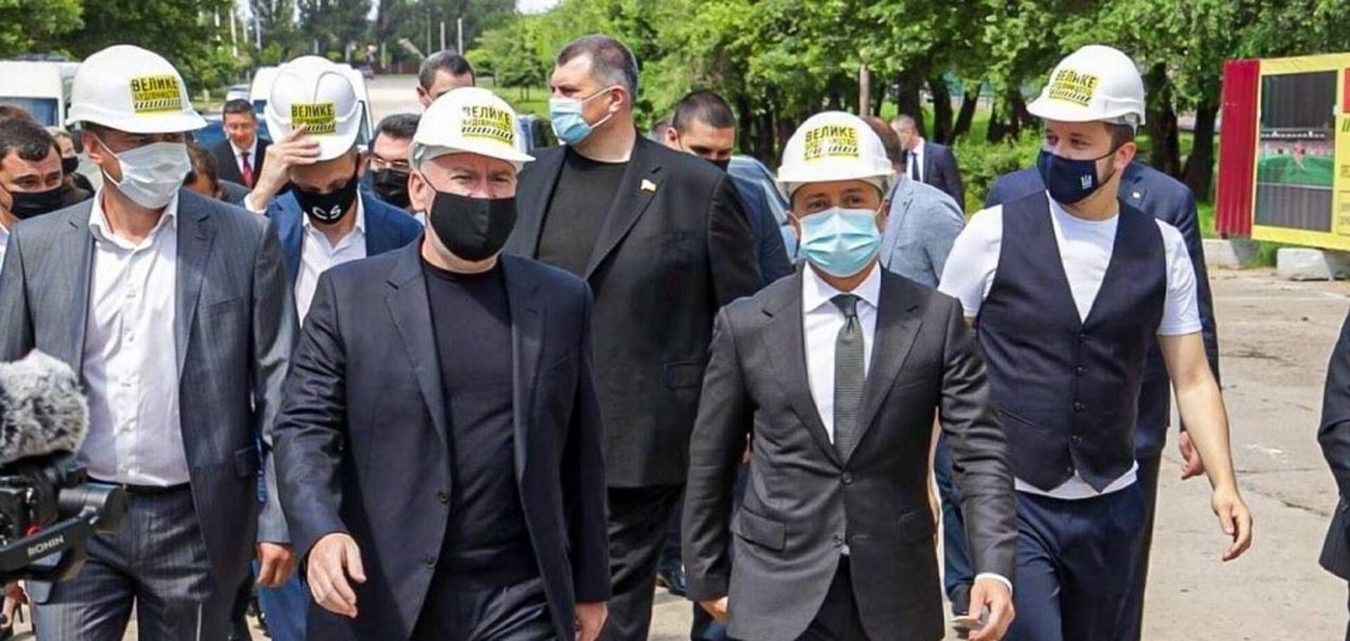 Зеленский совершил рабочую поездку в Днепропетровскую область