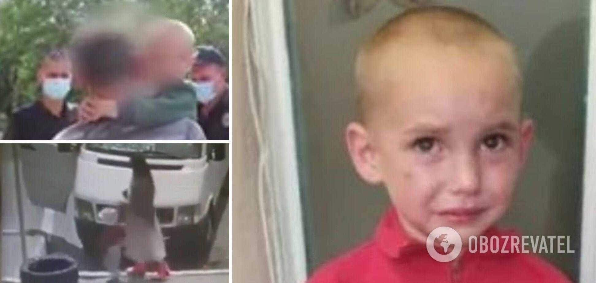 Мачеха вывезла 4-летнего малыша за 200 км и бросила на произвол судьбы, пока его отец воюет на Донбассе. Фото и видео