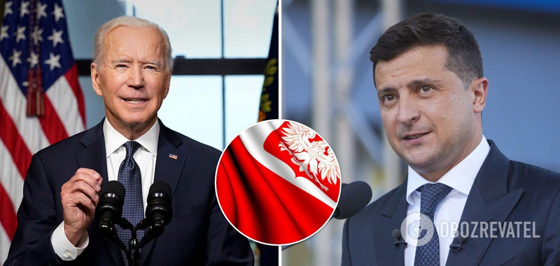 В Польше назвали ошибкой Байдена саммит с Путиным до встречи с Зеленским