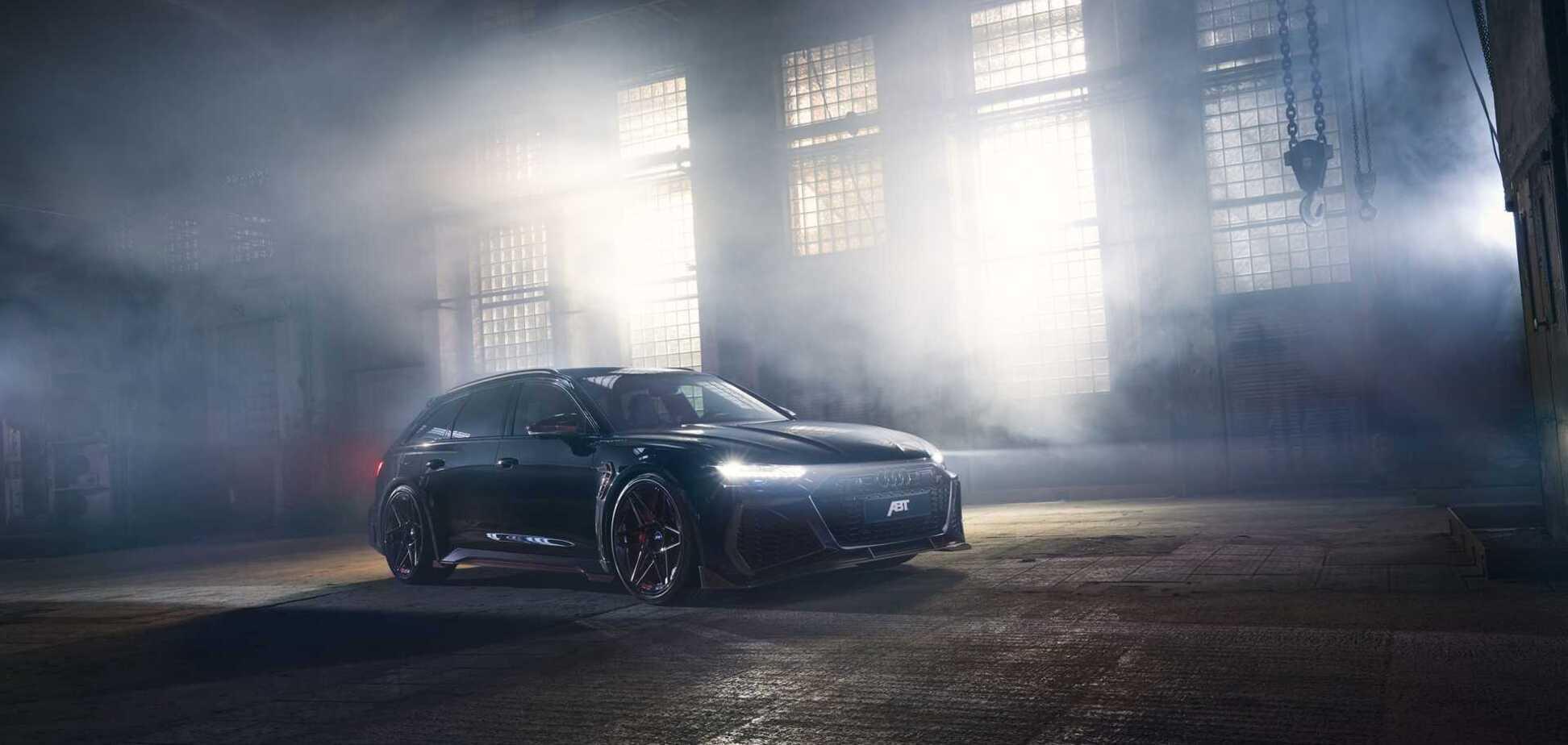 Audi RS6 від Abt Sportsline розігнали до 330 км/год