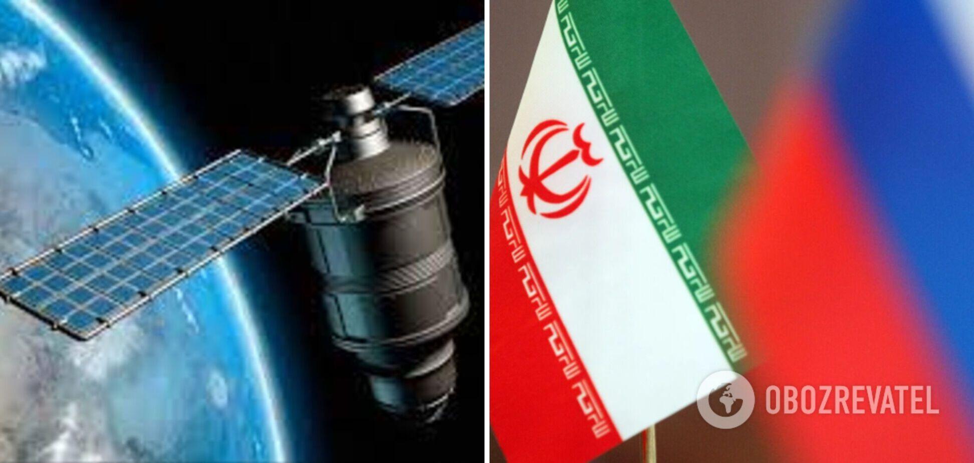 Росія захотіла передати Ірану супутник для відстеження військових цілей