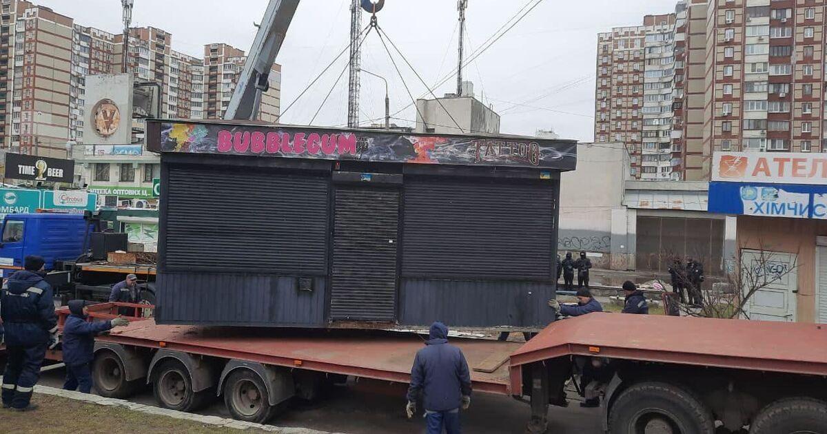 Киевсовету предложили новые правила размещения МАФов в столице