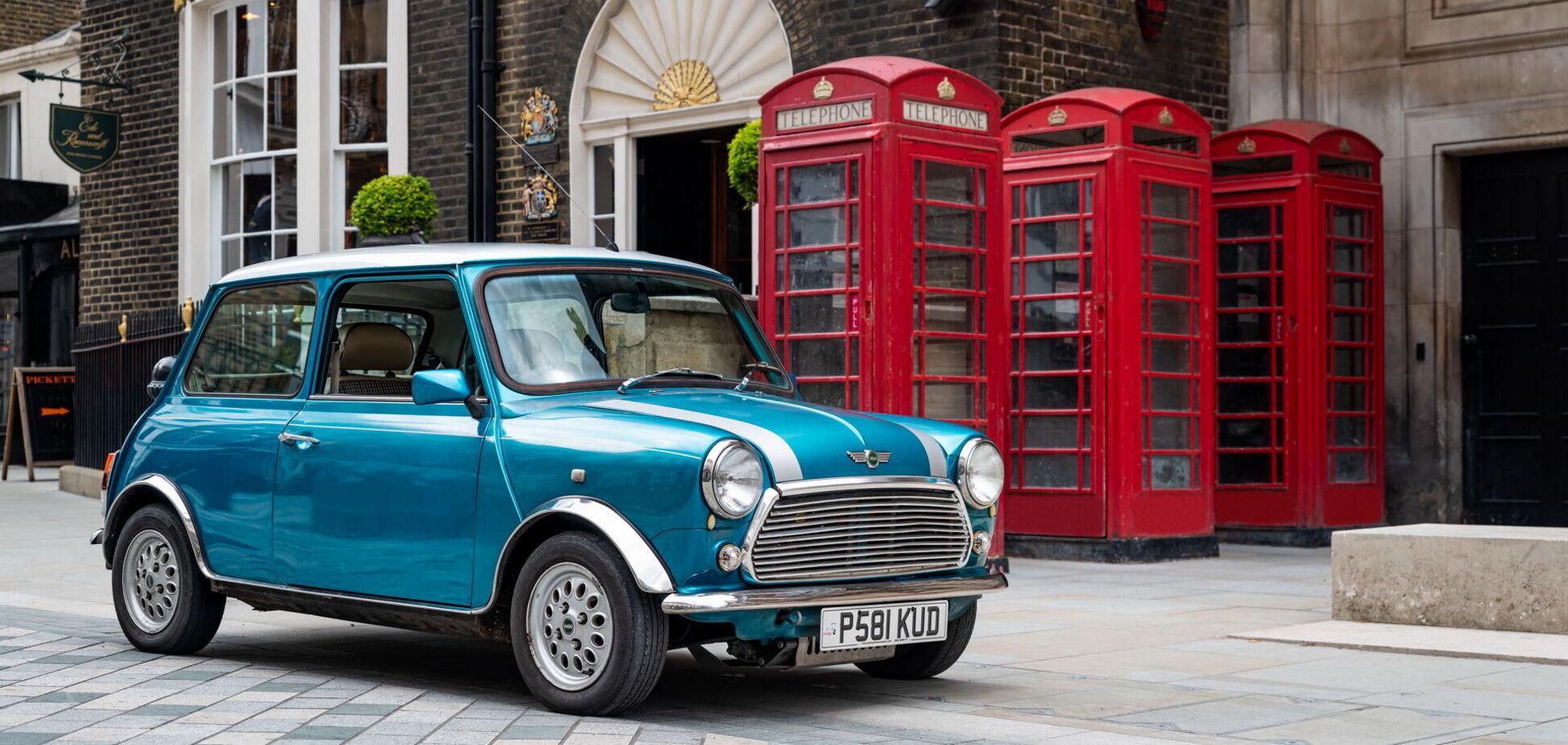 Классический Mini переделали в электромобиль