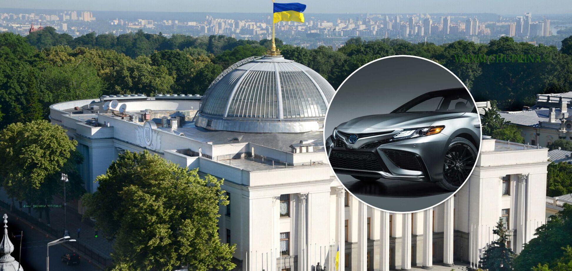 Верховная Рада и Toyota Camry