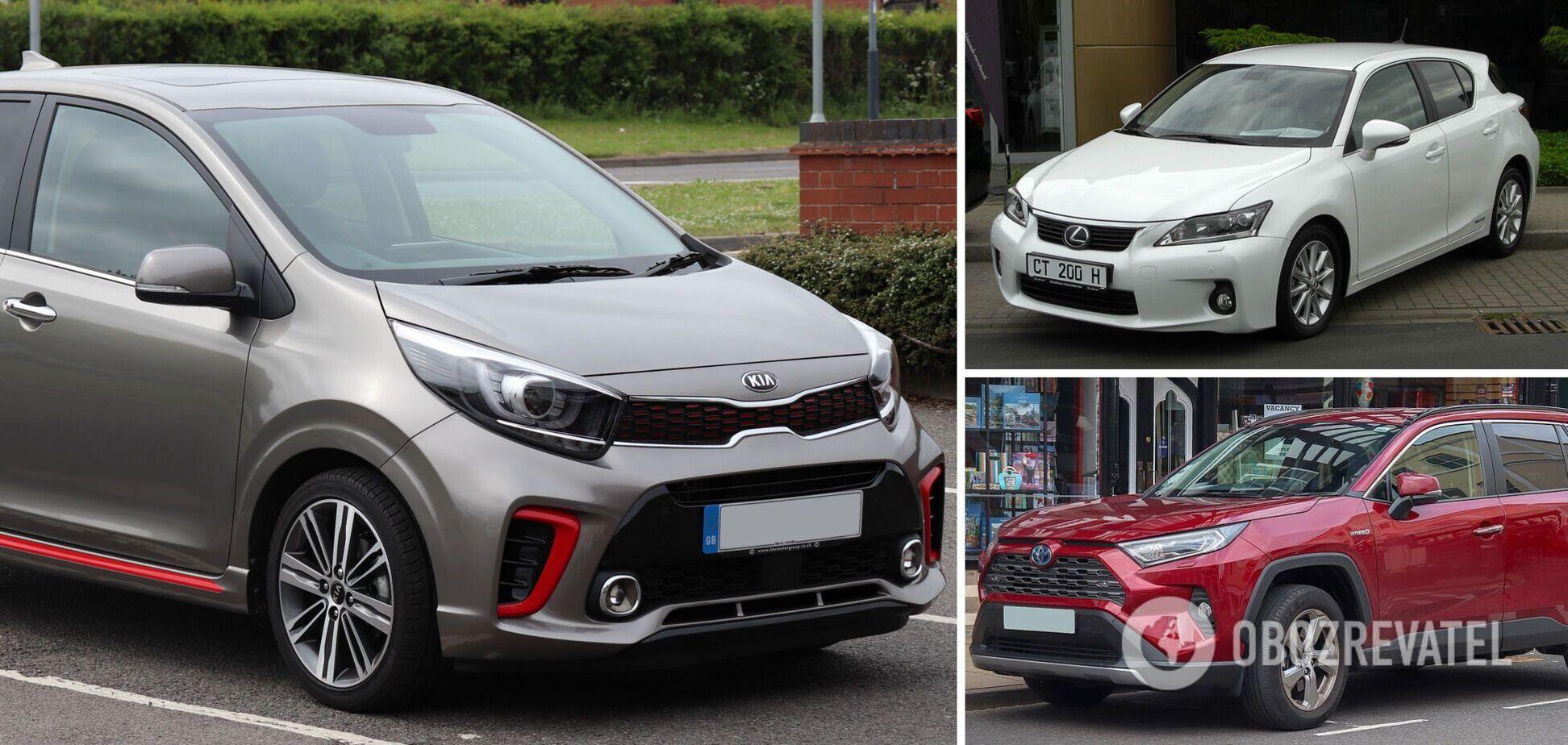 Lexus, Кіа та Toyota