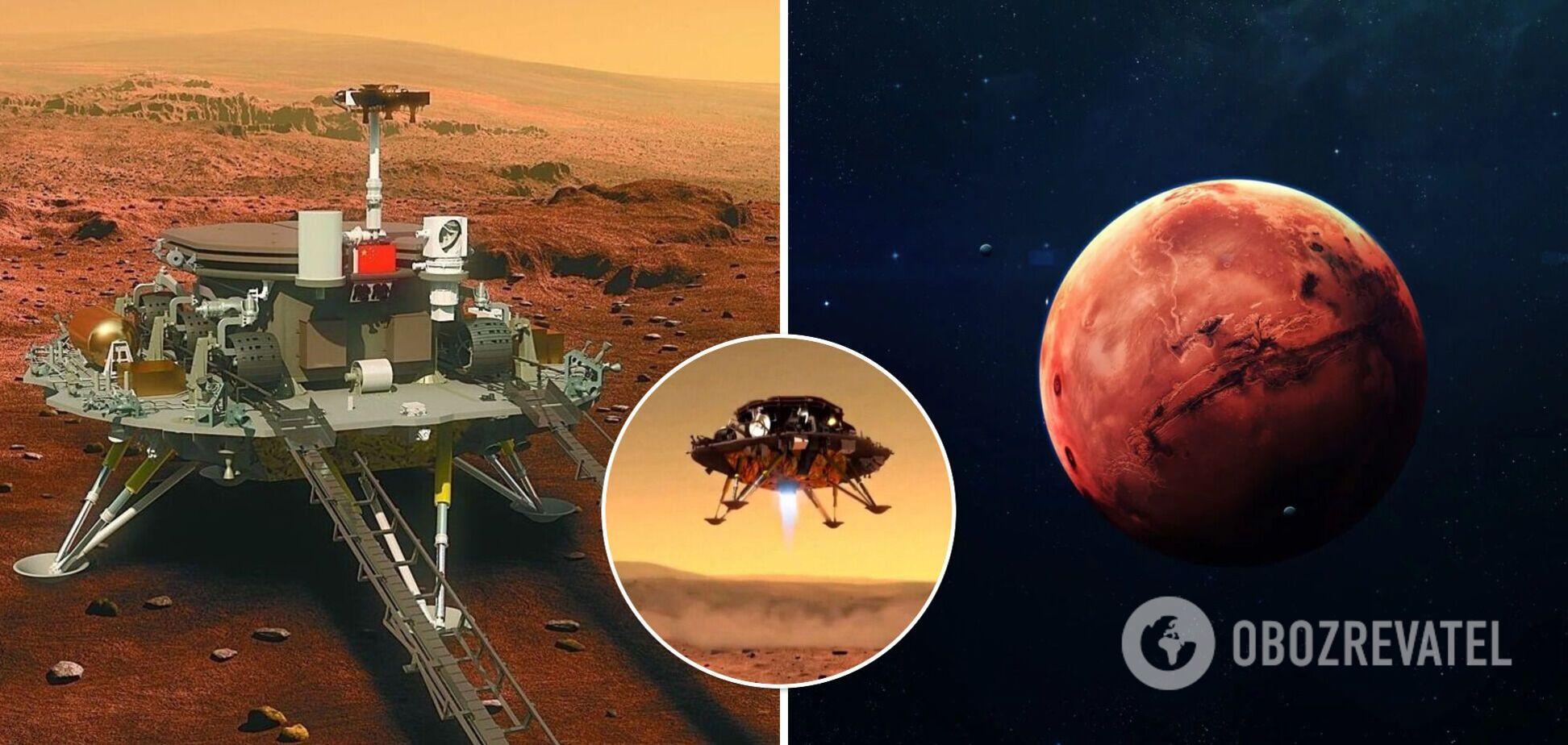 Китайський марсохід надіслав на Землю нові фото з Марса