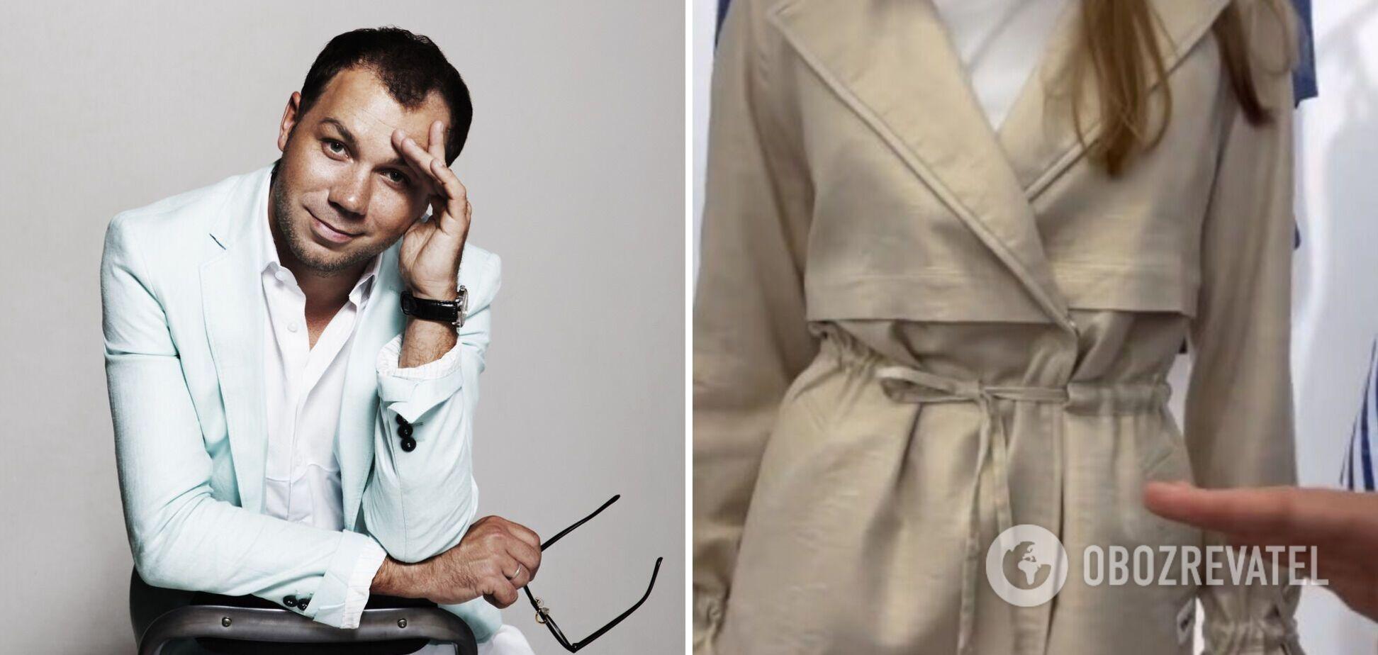 Андре Тан показав найстильніший костюм з тренчем у 2021-му. Фото і відео