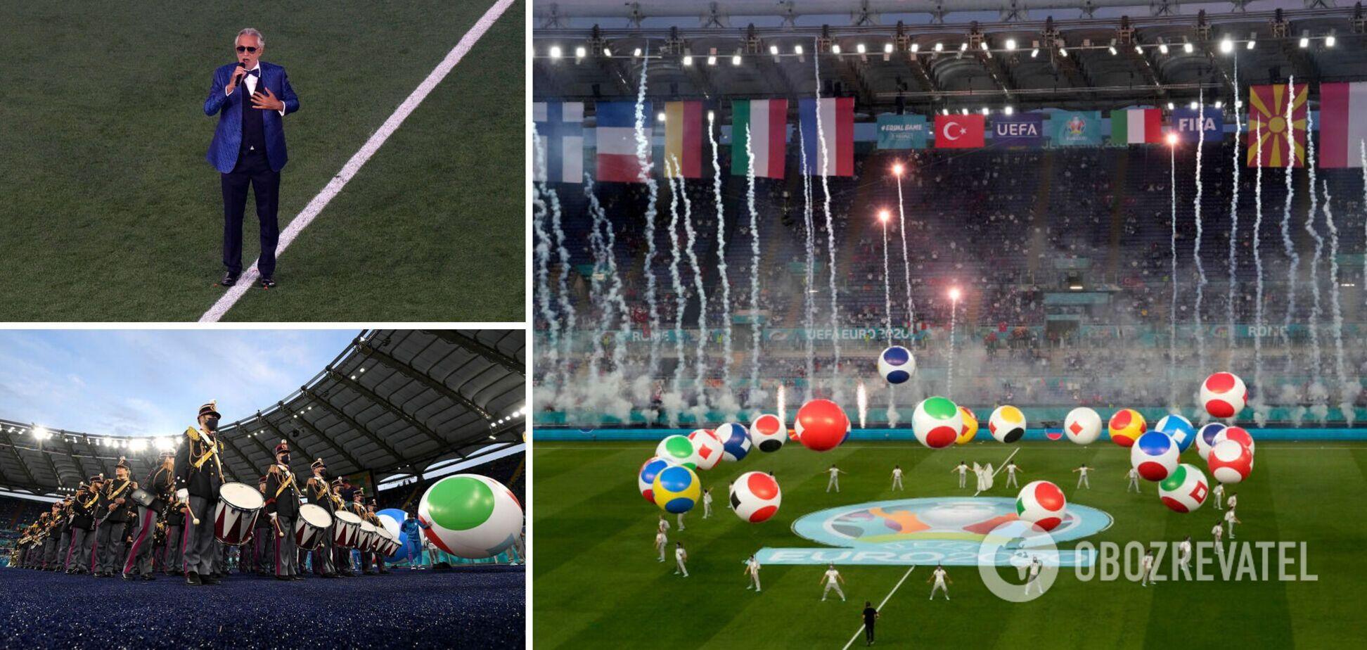 Церемония открытия Евро-2020 прошла в Риме