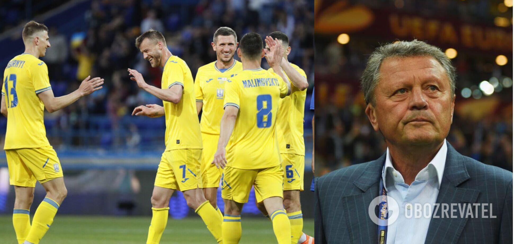 Маркевич ждет успешного выступления от Украины на Евро-2020