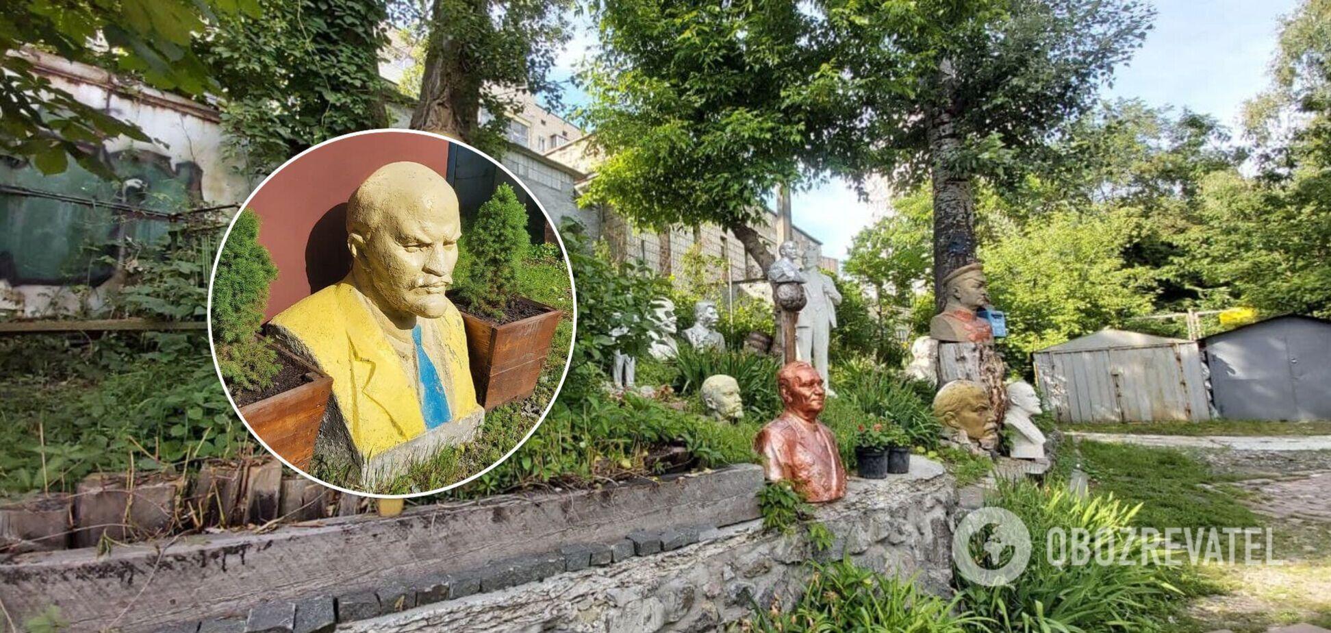 Пам'ятники Леніну у Києві