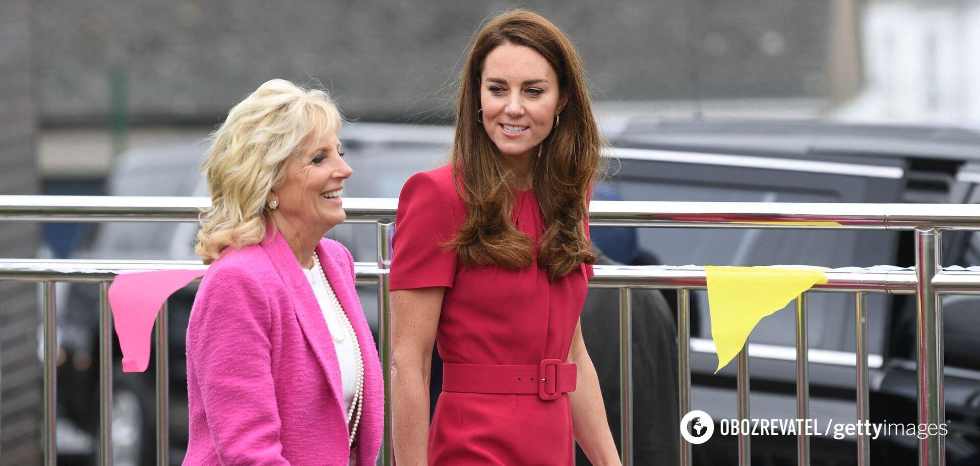 Перша леді США Джилл Байден і герцогиня Кембриджська Кейт Міддлтон
