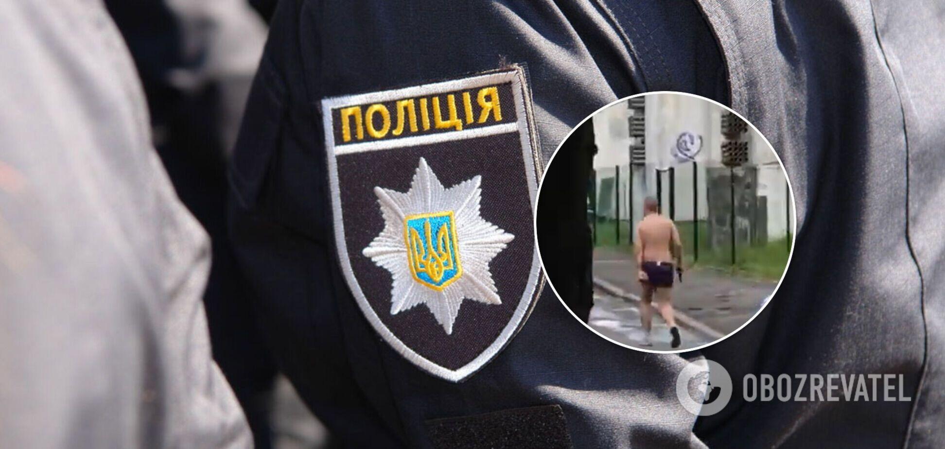 В Киеве мужчина открыл стрельбу