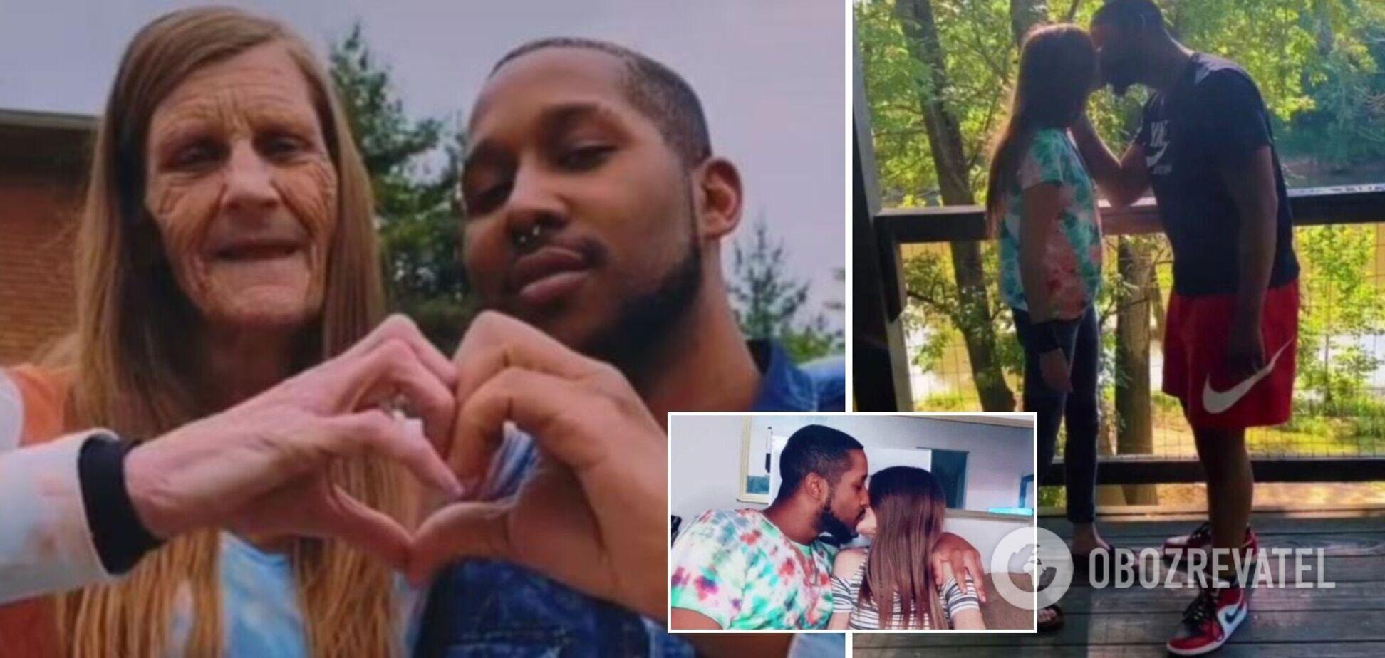 23-річний хлопець показує в Tik Tok танці і поцілунки зі своєю 60-річною дівчиною