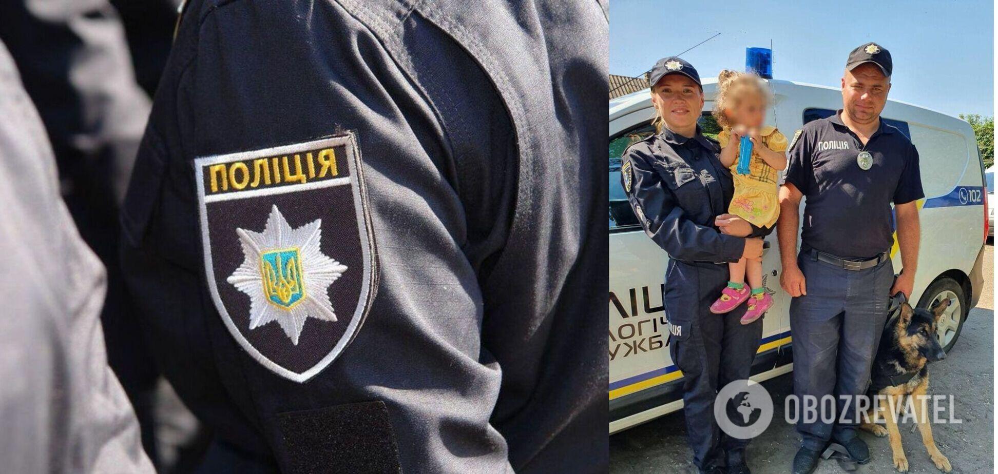 Під Миколаєвом знайшлася 2-річна дівчинка: Нацполіція піднімала на пошуки цілий взвод