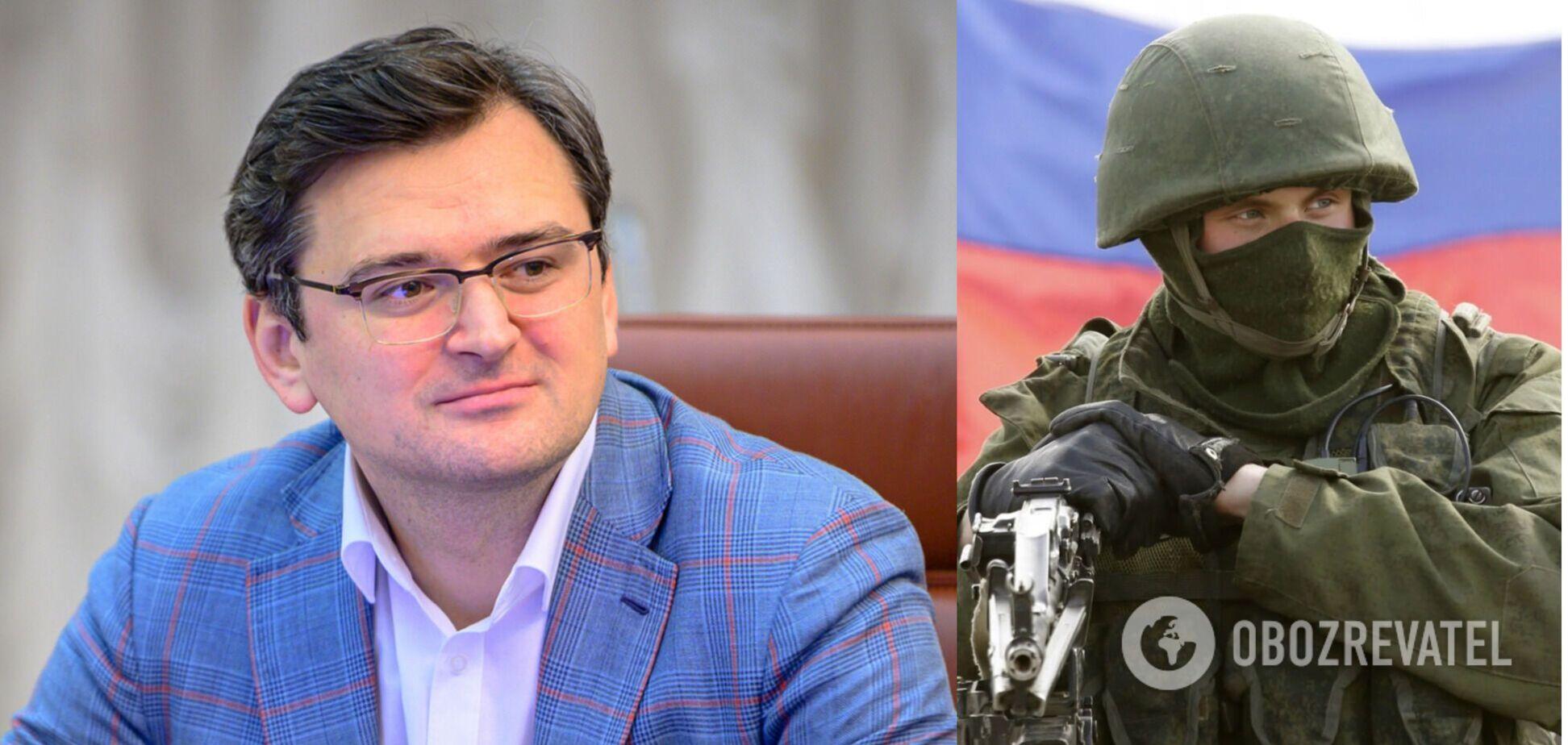 Кулеба: загроза воєнної операції РФ проти України зберігається, треба бути готовими