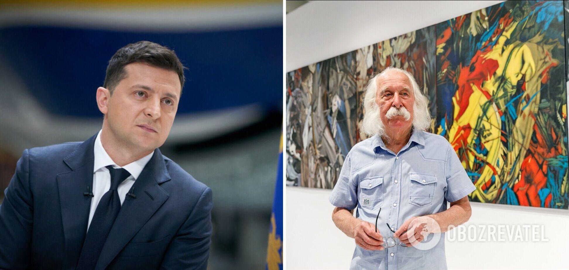 Зеленский инициировал создание центра современного искусства Ивана Марчука