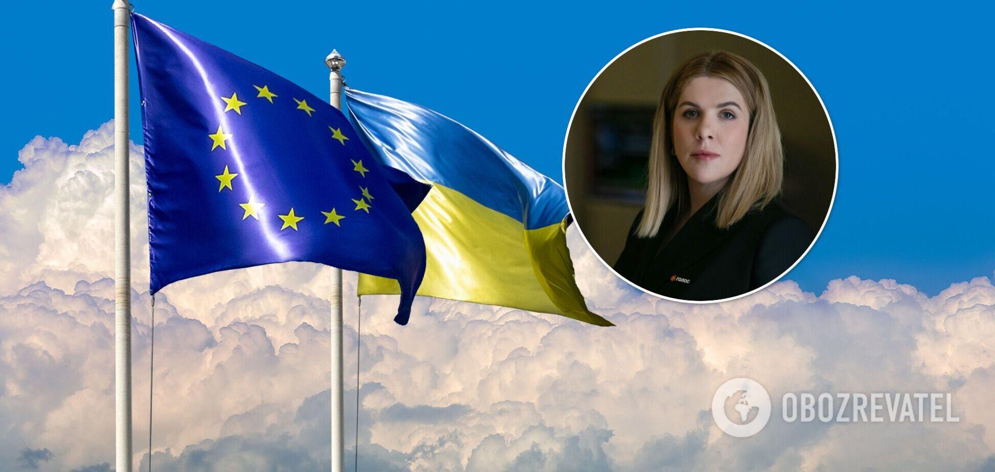Кира Рудык: безвиз должен был стать для Украины мотивацией для реформ, но власть нивелирует этот аванс