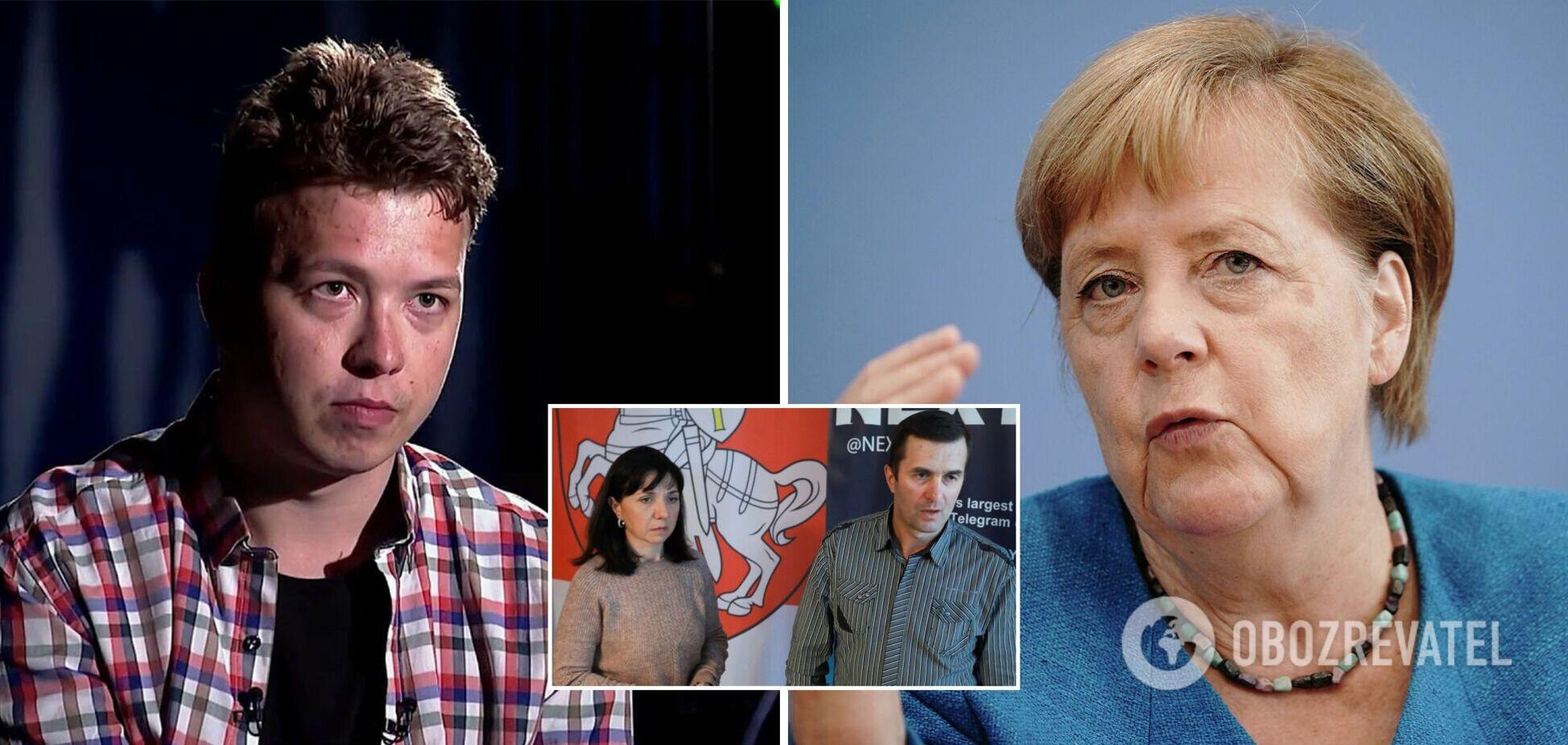 Батьки Протасевича звернулися до Меркель із проханням зупинити Лукашенка
