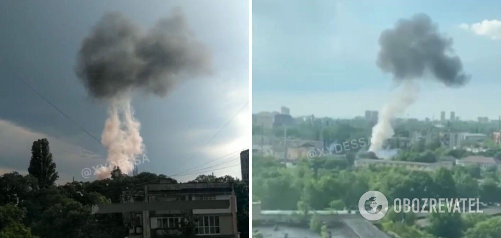 В Одесі стався потужний вибух на підстанції