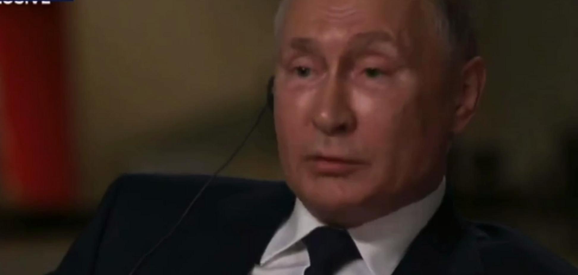 Путина напрямую спросили, убийца ли он, тот ответил