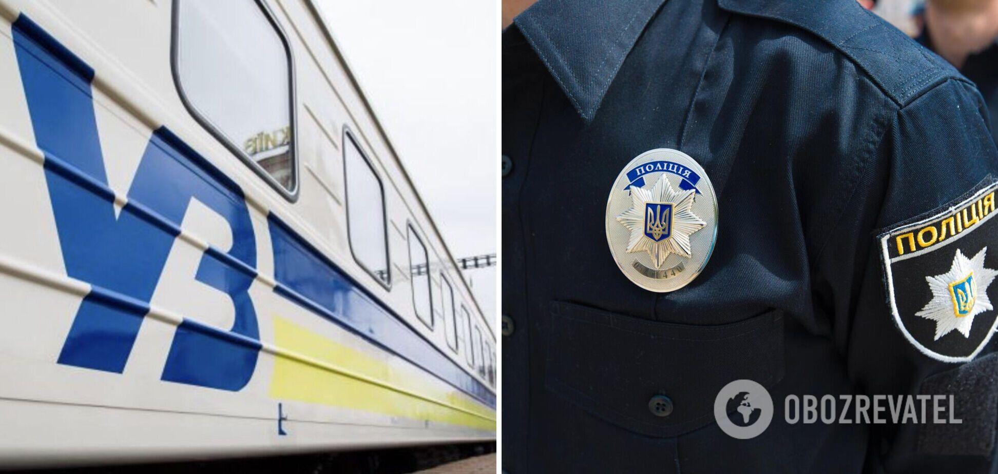 Пассажир 'Укрзалізниці' упал с верхней полки и на утро умер