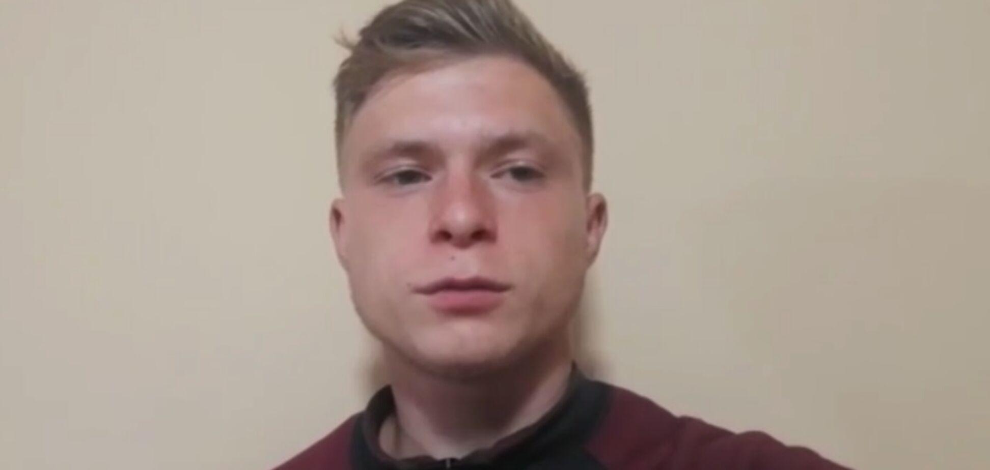 Подросток, избивший девочку в Харькове, записал видеообращение
