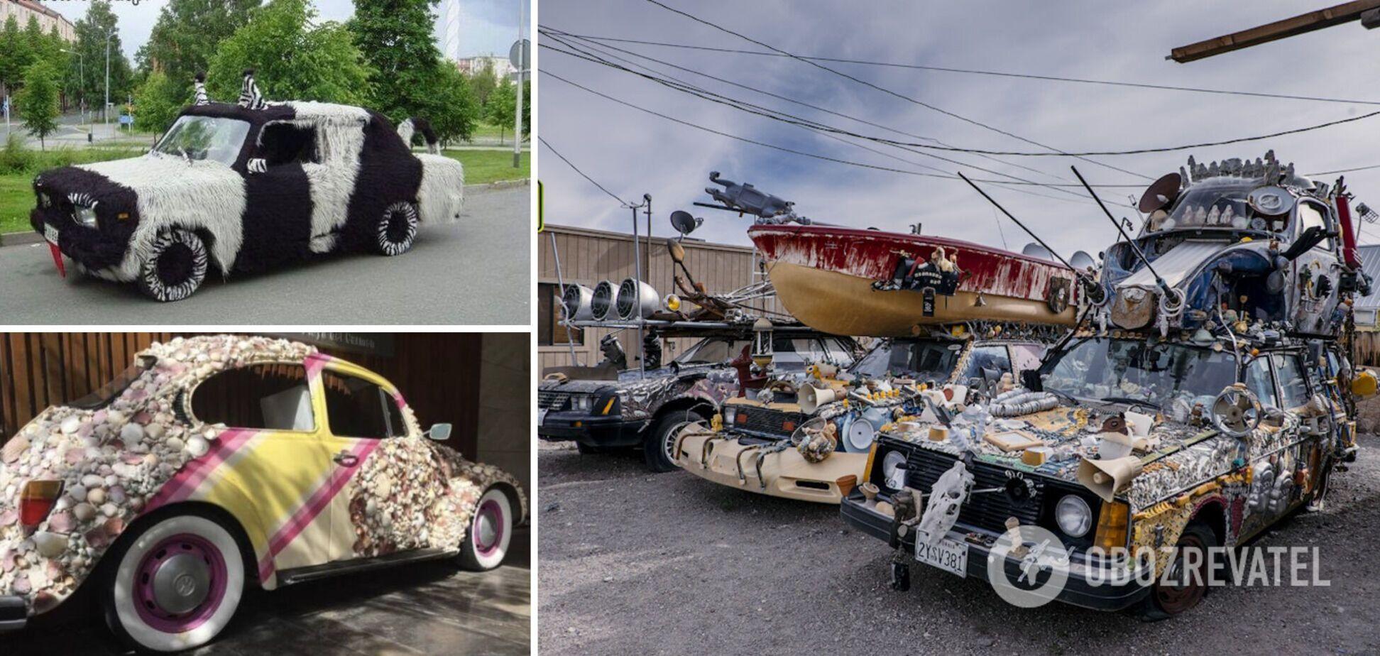 Водители украсили свои автомобили