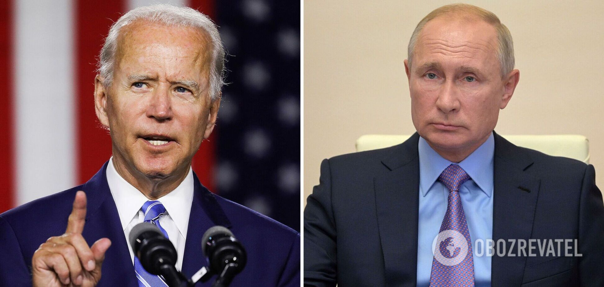 Байден может передать Путину 'жесткий сигнал': президент РФ также озвучил ожидания