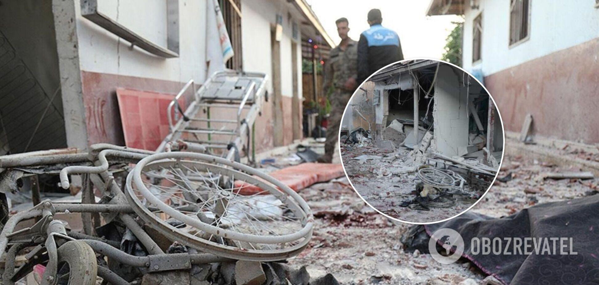 У Сирії обстріляли лікарню: серед 18 жертв двоє дітей. Фото