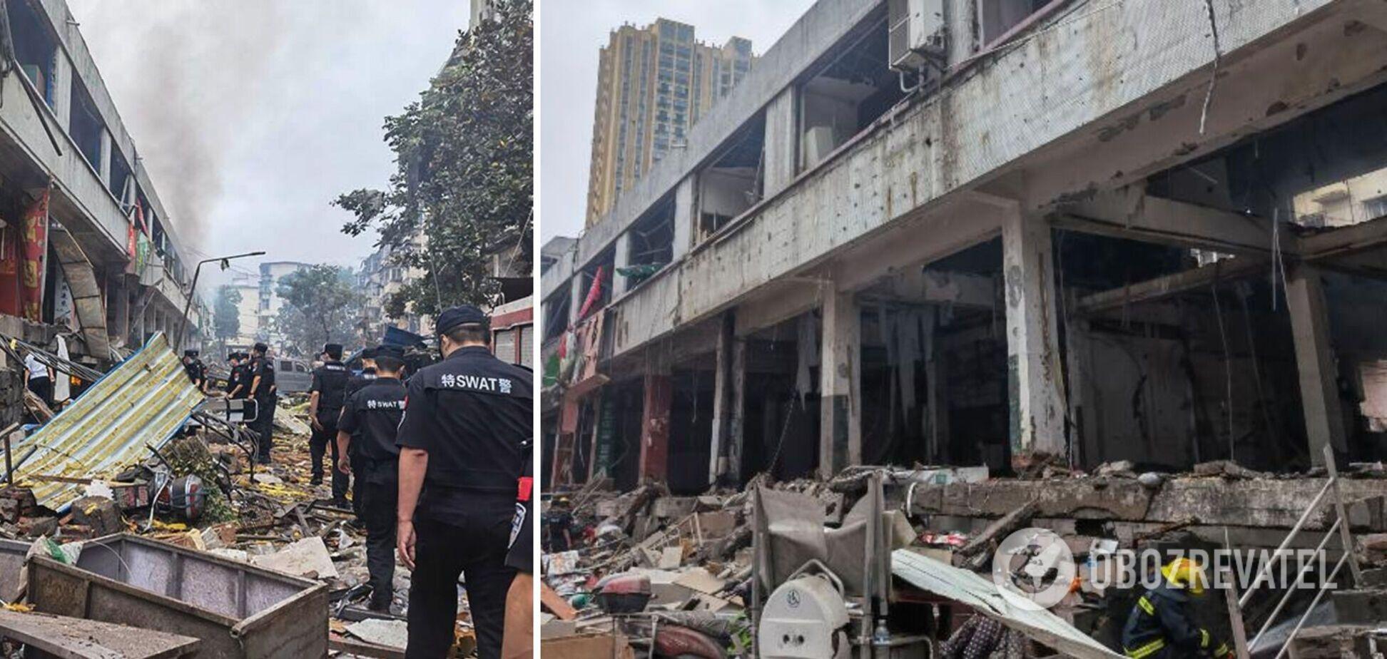 У Китаї на ринку прогримів потужний вибух: загинуло 12 осіб. Фото і відео