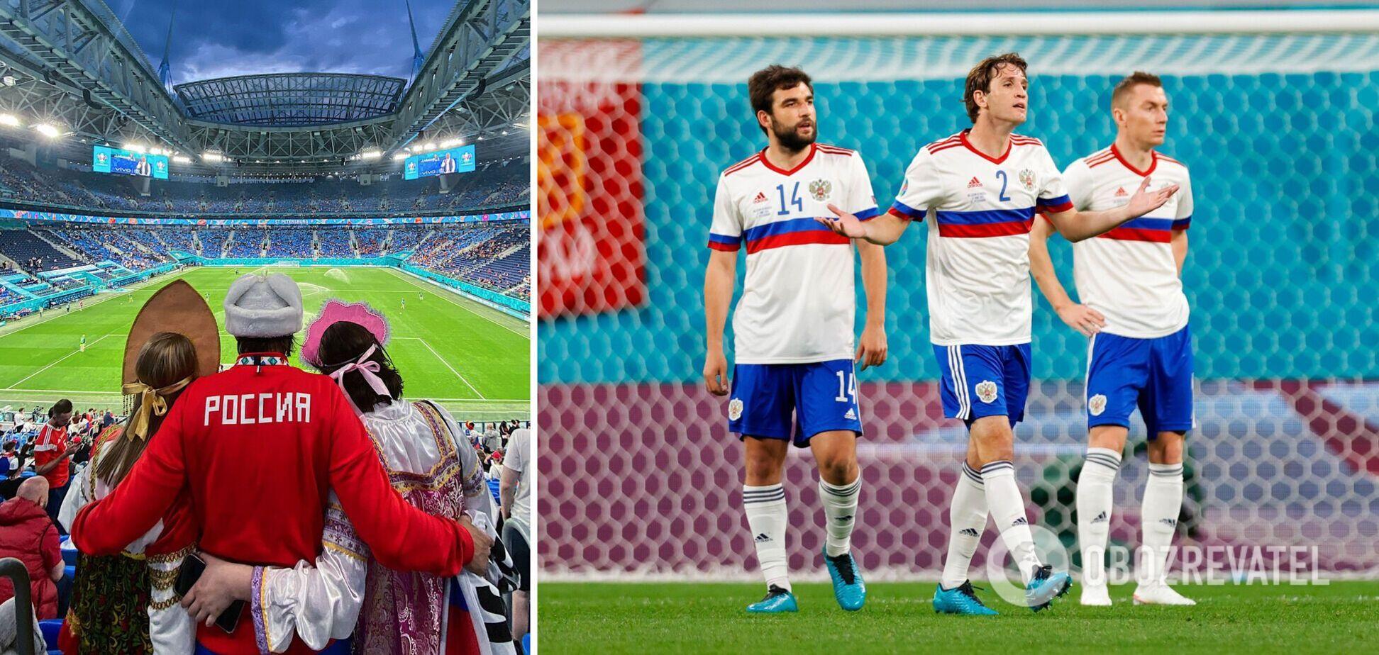 Росіяни програли Бельгії з рахунком 0:3