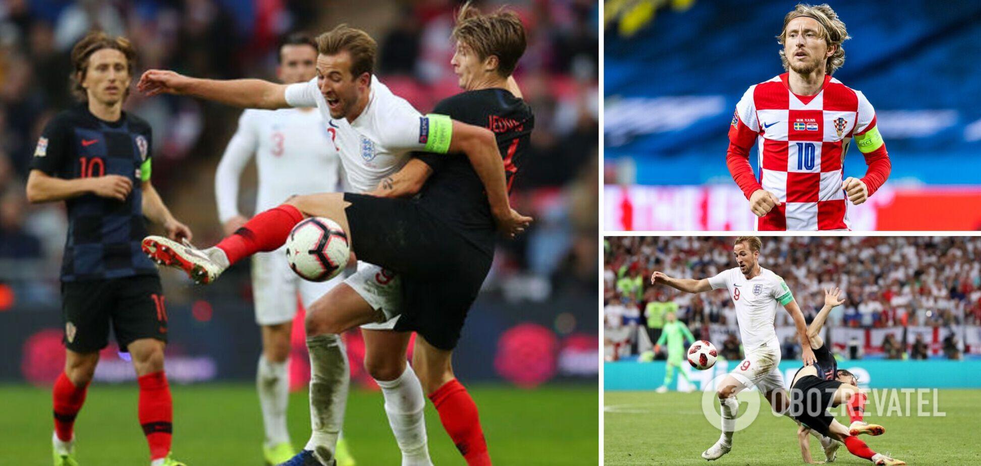 Матч Англія - Хорватія пройде на 'Уемблі'