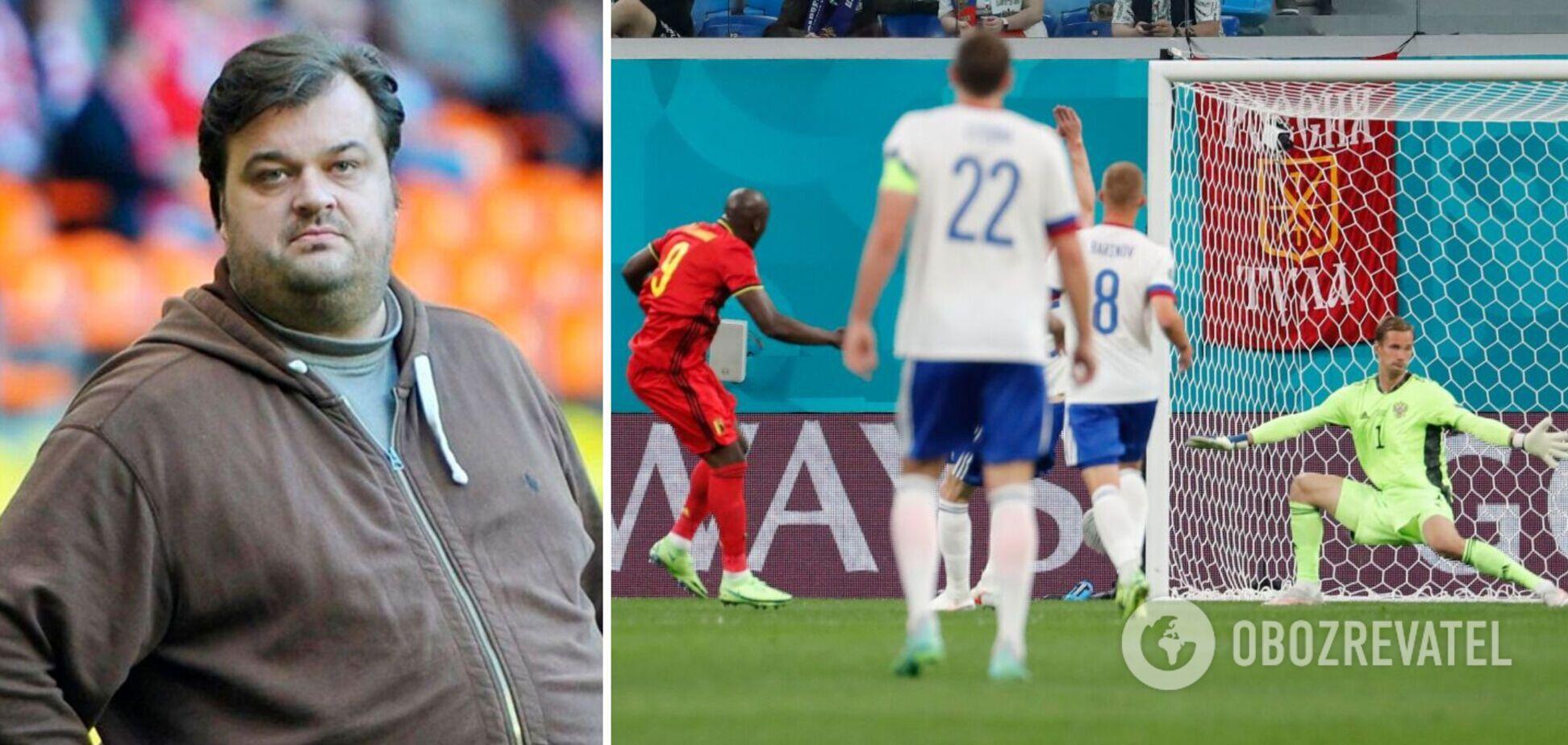 Россия разгромно уступила Бельгии 0:3