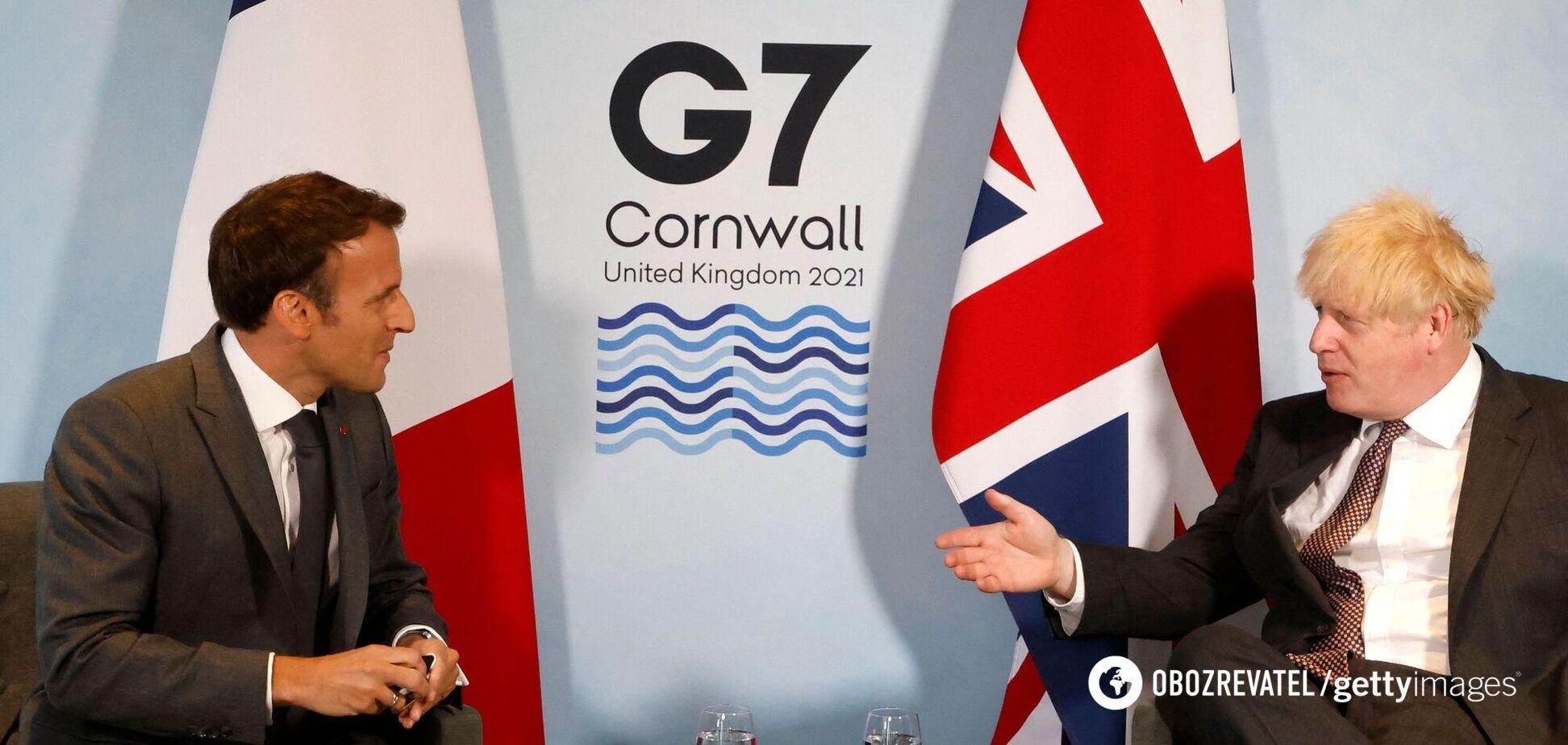 Джонсон обурився словами Макрона, що Північна Ірландія 'не входить' до складу Британії – ЗМІ