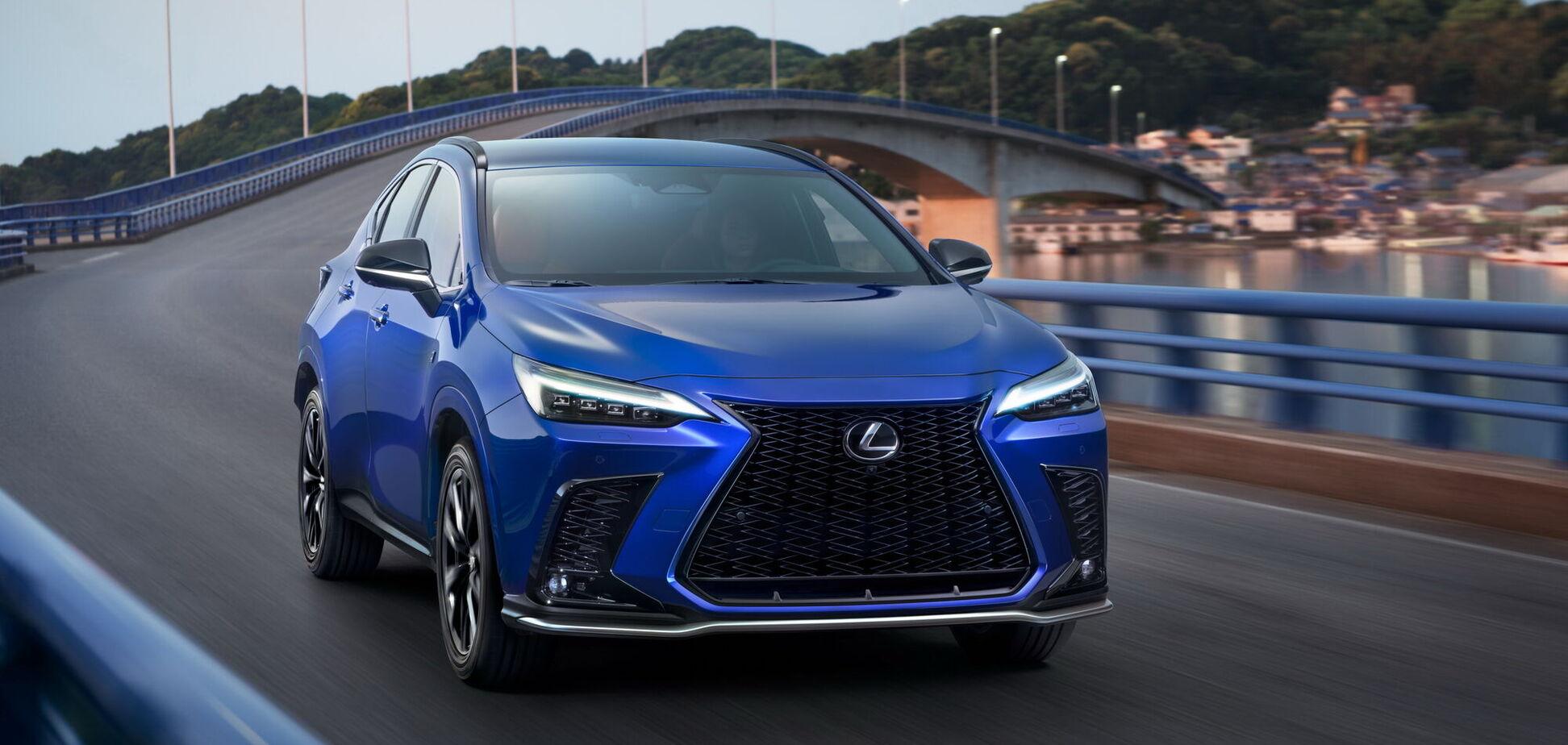 Lexus презентував нове покоління кросовера NX