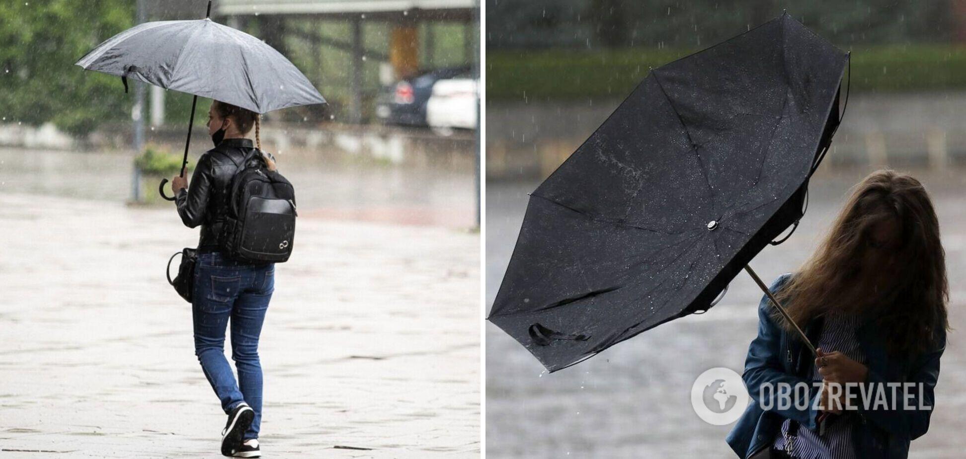В Украину снова вернутся дожди с грозами: синоптик уточнила прогноз на понедельник